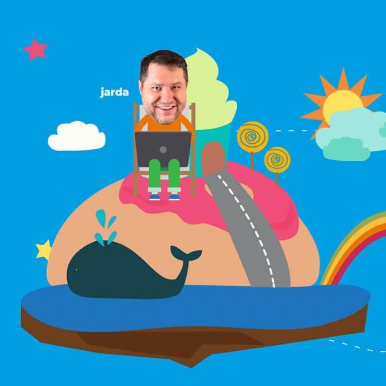 Jarda Majer - Napadlo - Pomáháme dětem - WordPress jako dar